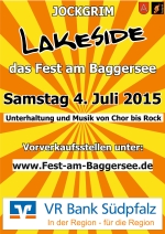 Jockgrim - Lakeside 2015 - Das Fest am Baggersee
